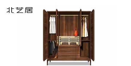 北欧家具,实木衣柜