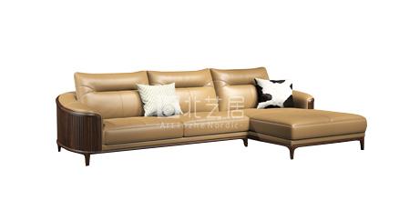 北艺居实木沙发E1609