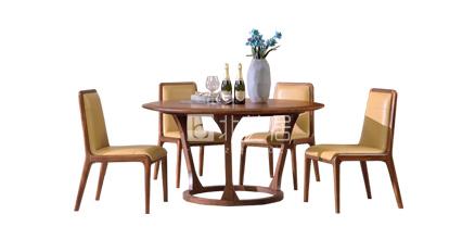 实木餐桌椅604