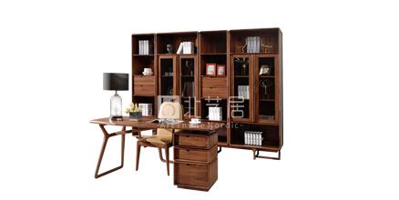 实木书房家具